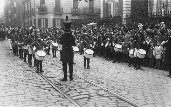 Kutxateka tamborrada 1928