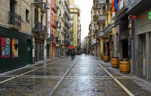 Pamplona - Calle Estafeta