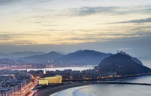San Sebastián desde La Zurriola